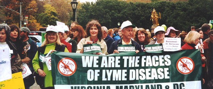 001-Advocacy-Lyme-Banner-at-NY-Burrascano-Rally-2001